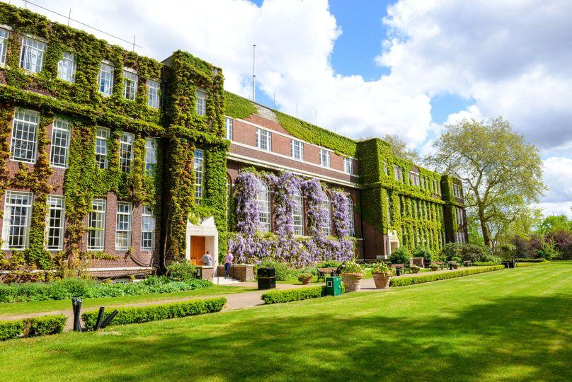 Regent's summer exterior