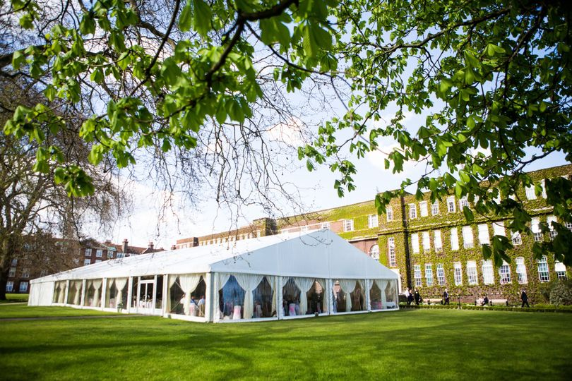 Summer Marquee On York Lawns