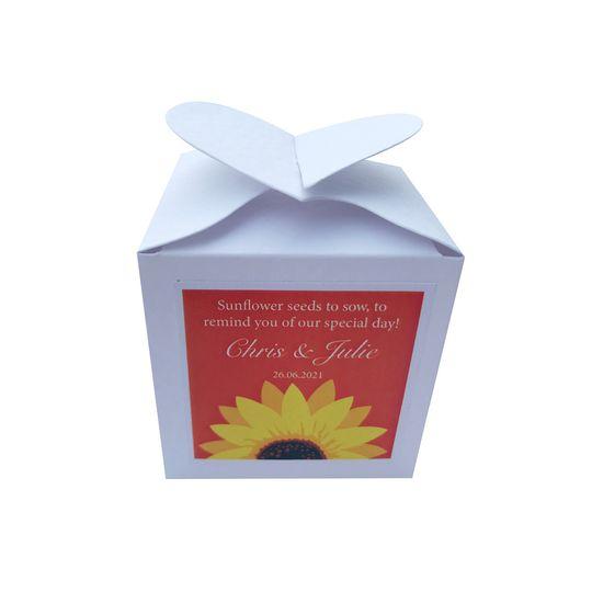 Wedding favour  - Sunflower