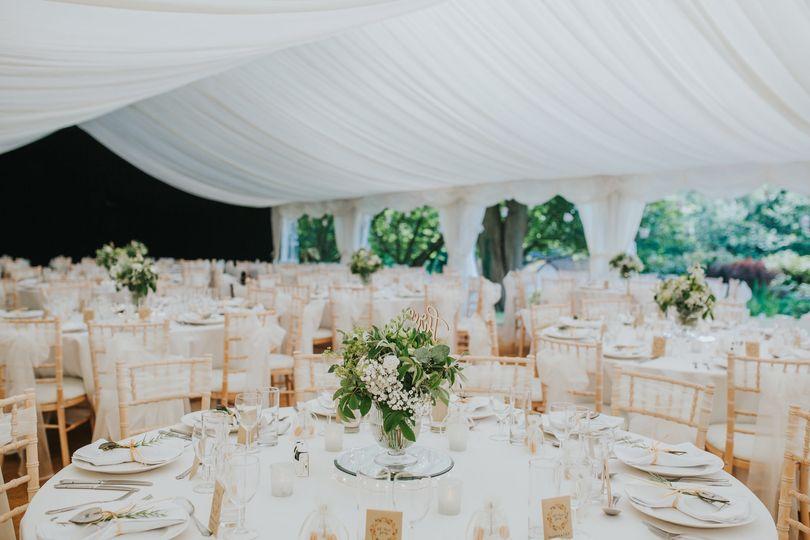 High-end wedding