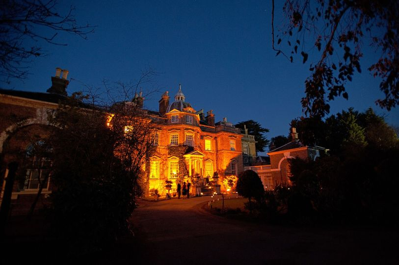 Hampton Court House at Night