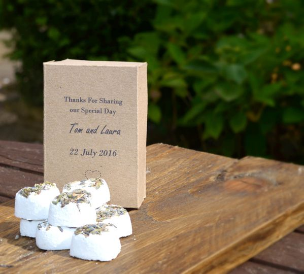 Hand crafted favours