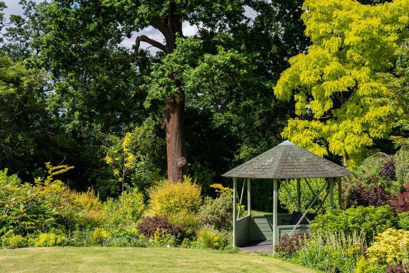 Gardens with Gazebo