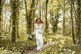 Ivy and Gold Bridal