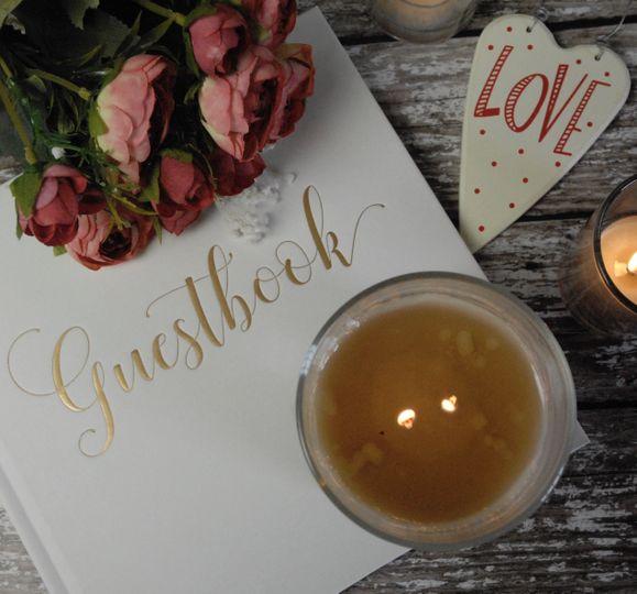 Bespoke Wedding Candle
