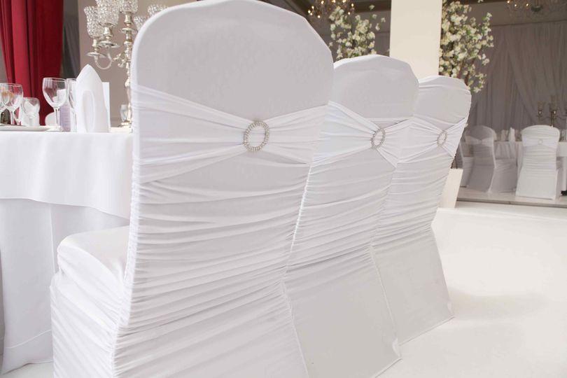 Premium Ruffled Spandex covers