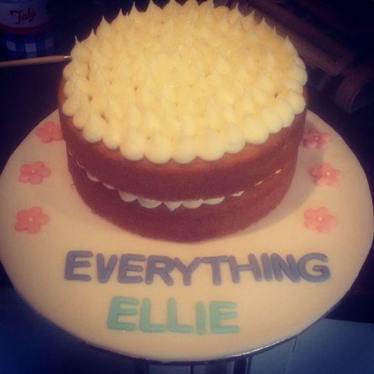 Charity cake