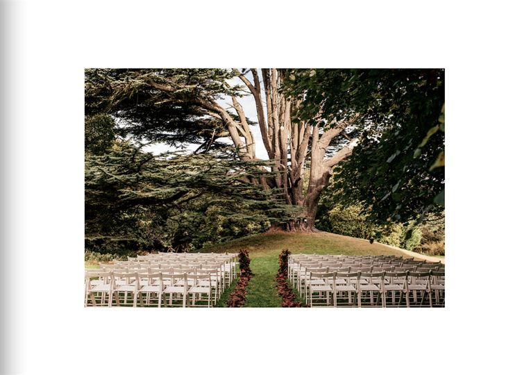 Dreamy outdoor ceremonies