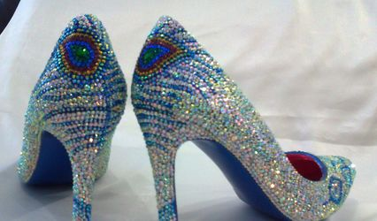 Crystal Shoes Designer Inspired