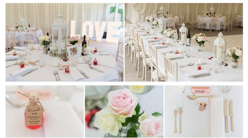 Keythorpe Manor Table Decor