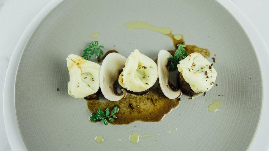 Tortellini and short rib