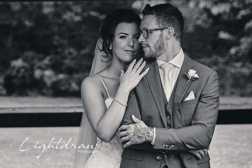 Portrait of the bride and groom - Lightdraw Photography & Film