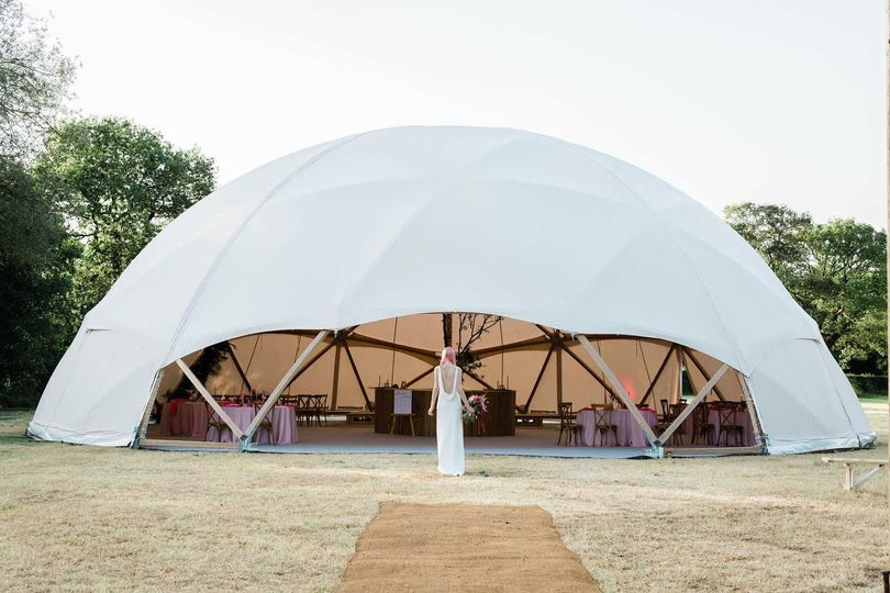 20m timber geodome
