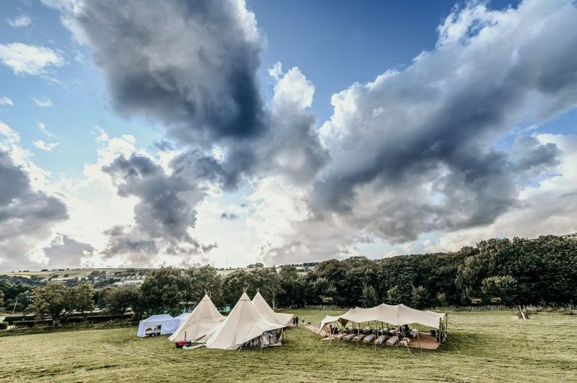 Tipis and stretch tent
