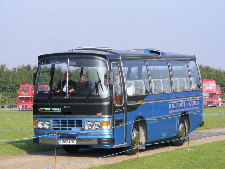 35 seat Bristol LHS coach