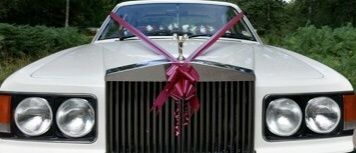 Front view of Rolls Royce