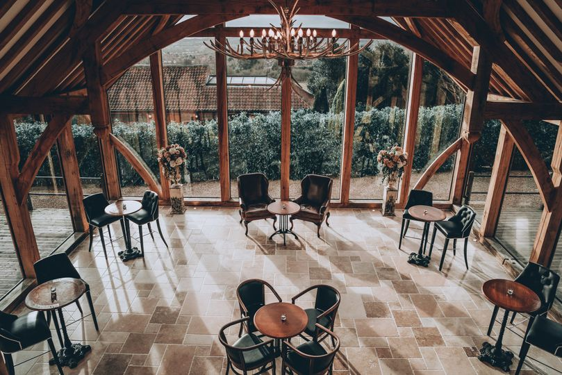 The Glass Barn casual seating