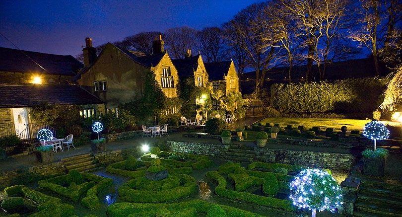 Holdsworth House at Night