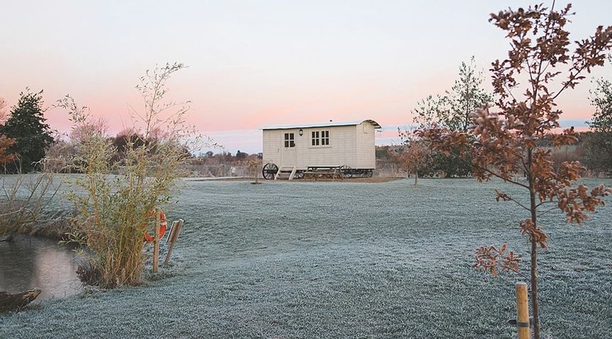 Accommodation - Shepherd's Hut