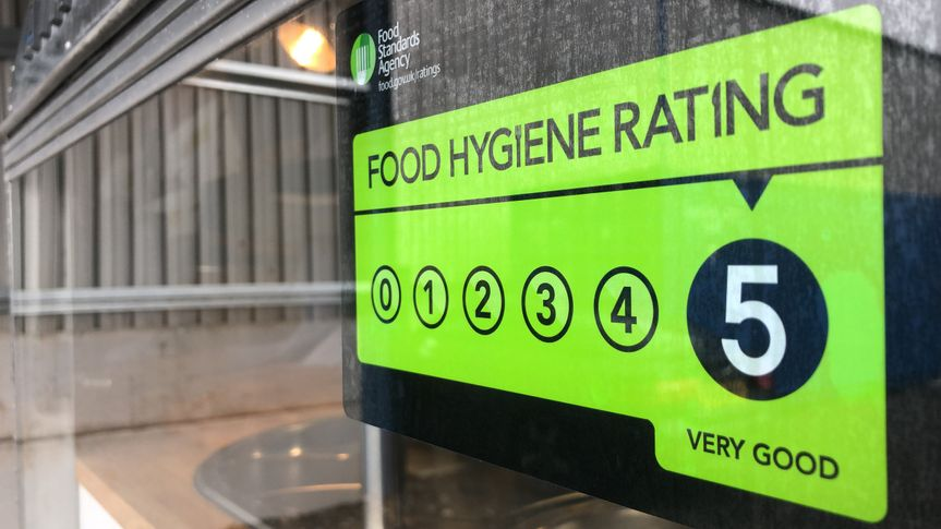We are 5 star food hygiene rated!