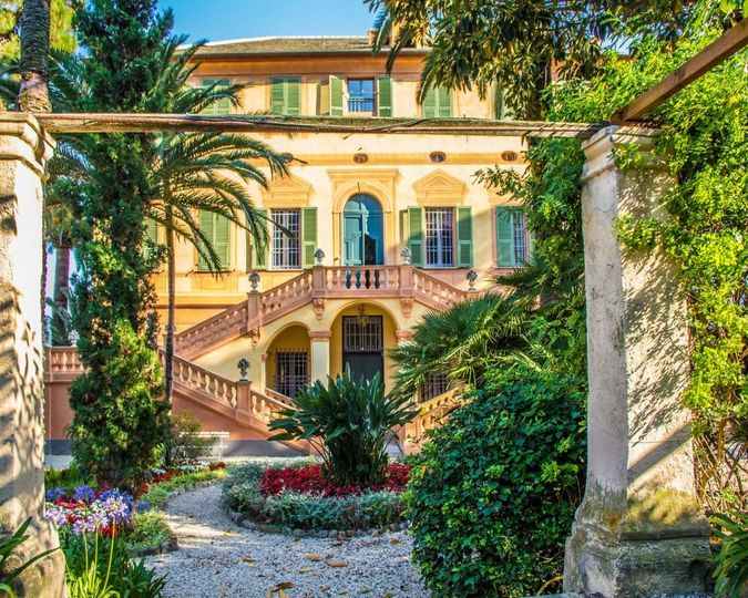 Main villa garden