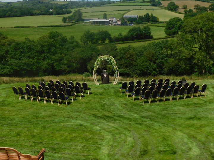 Wedding Arch and Chairs