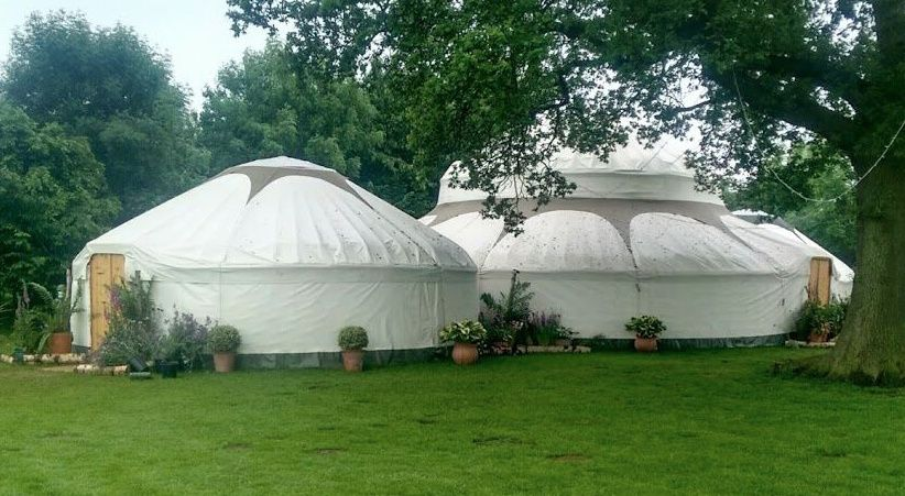 The 42' & 26' Super Yurts