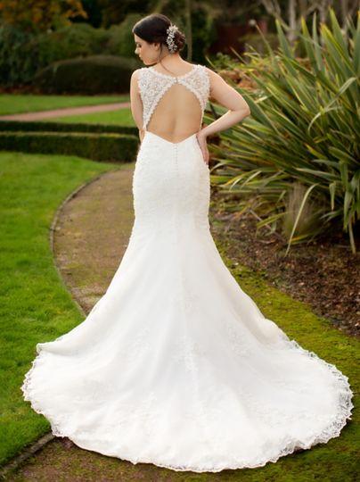 A wonderful white dress