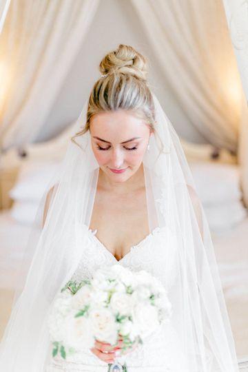 Portrait of the bride - Hayley Jayne Photography