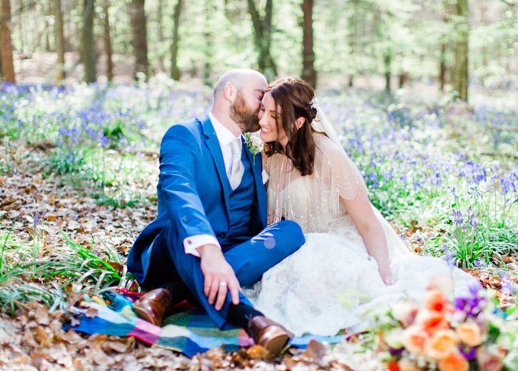 Couple seated - Hayley Jayne Photography