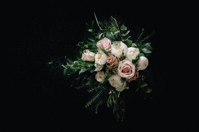 lochnell castle wedding benderloch flowers bridal thistle and the rose oban 4 113573 v1