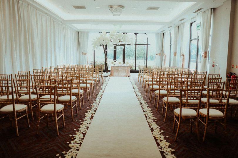 Ceremony in Wardle Suite