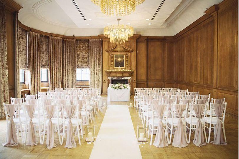 The Grand York ceremony space