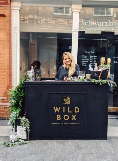 WILD BOX Pop up bar