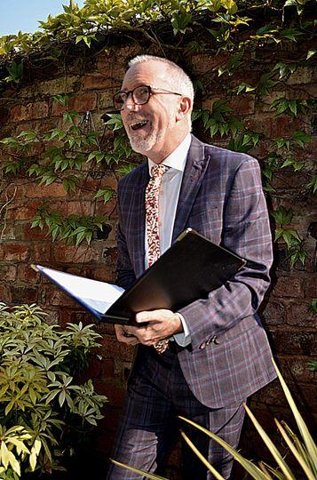 Gary the celebrant