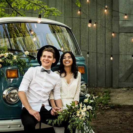 Gorgeous VW camper couple