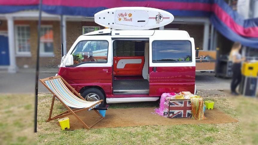Mini Camper Booth