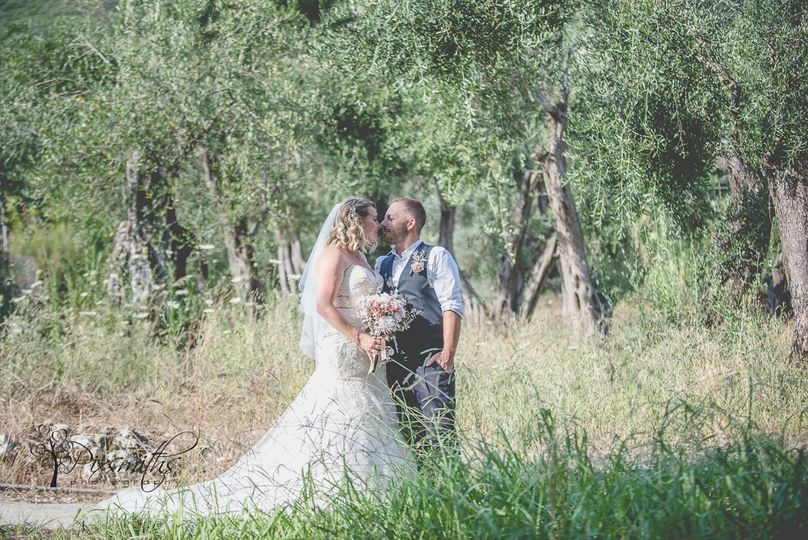 Destination wedding Corfu