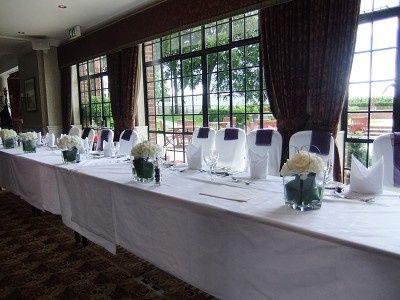 Top Table Wedding Flowers