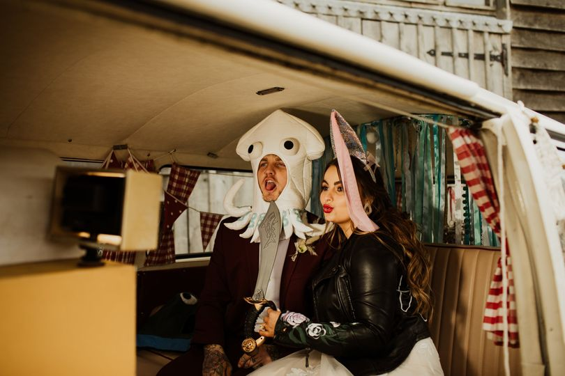 Photo Booths Buttercup Bus VW Camper Photo Booth 46