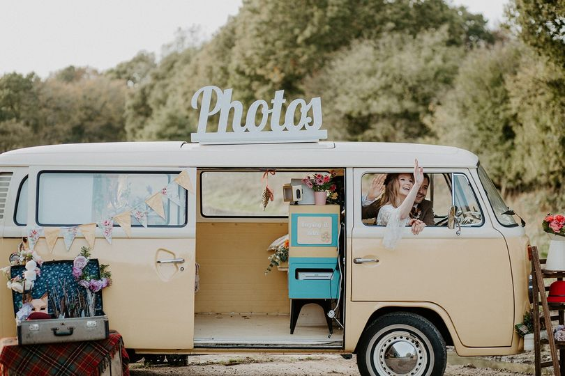 Photo Booths Buttercup Bus VW Camper Photo Booth 50