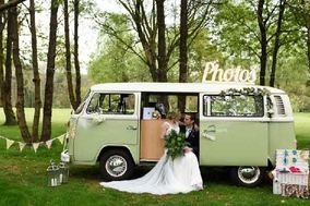 Buttercup Bus VW Camper Photo Booth