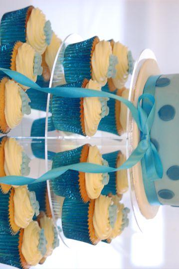 Cupcake Christening Cakes