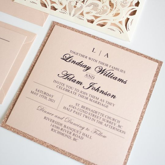 Blush Pink and Ivory Suite