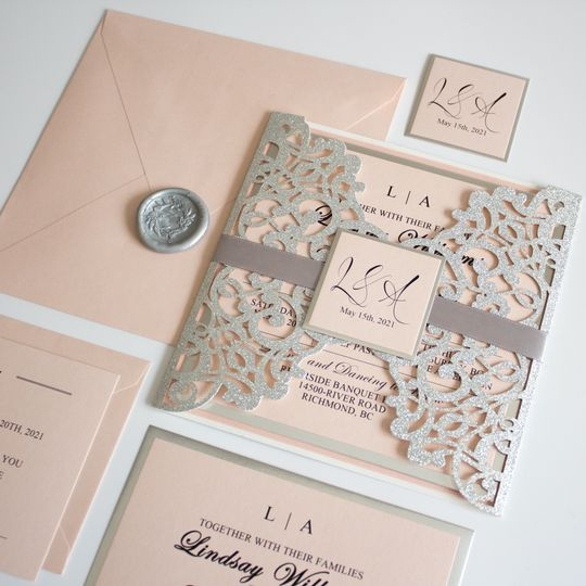 Blush Pink and Silver Suite