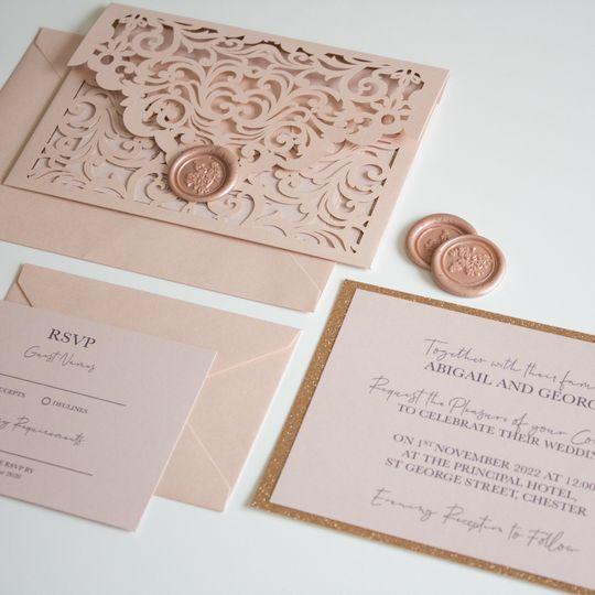Blush Pink Envelope