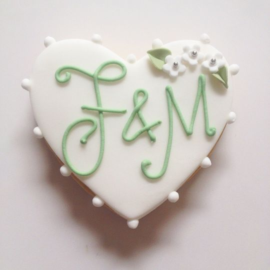 Monogrammed Favours