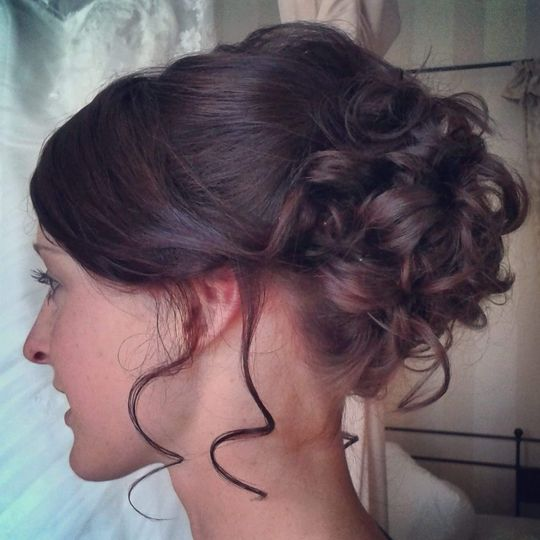 Wishbone & Comb Bridesmaids Hair