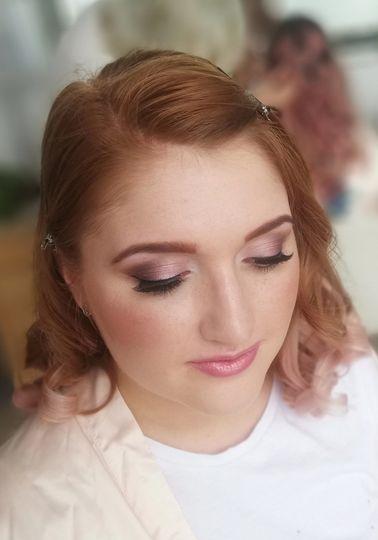 Wishbone & Comb Bridesmaids Makeup