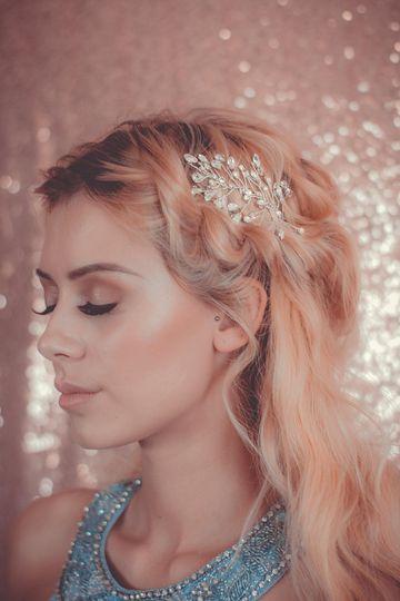 Wishbone & Comb Bridal Photoshoot Hair & Makeup